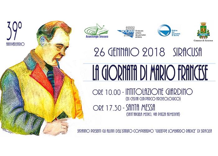 Corleone ricorda Ugo Triolo e Mario Francese