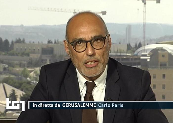 Il giornalista Rai Carlo Paris ferito da bomba flashbang a Gerusalemme