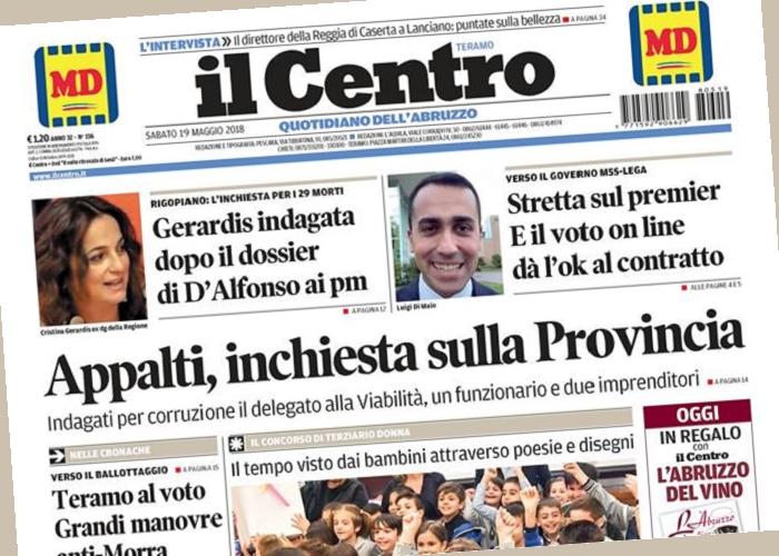 Fnsi Abruzzo Il Governatore Dalfonso Contro Giornalista Del